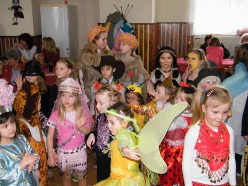 Maškarní dětí 2012
