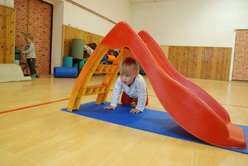 Vánoční cvičení rodičů  s dětmi